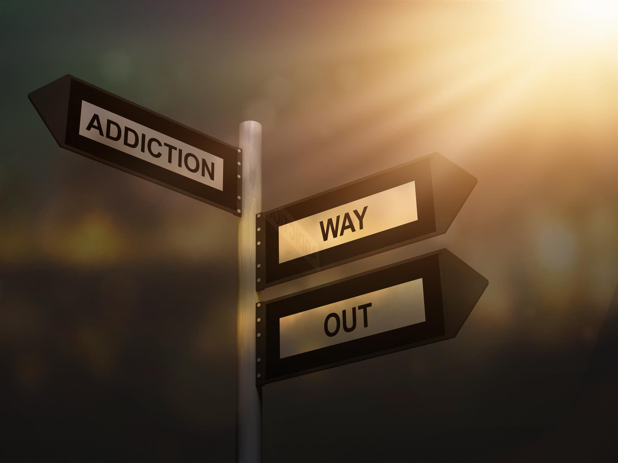 addiction way out problem sign