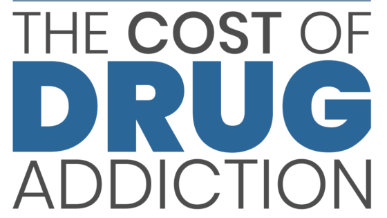 The Cost of Drug Addiction Infographic